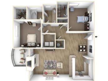 Floor Plan Preakness