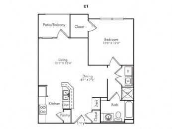E1 Floorplan
