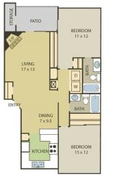 2 bedroom apartments in 78230