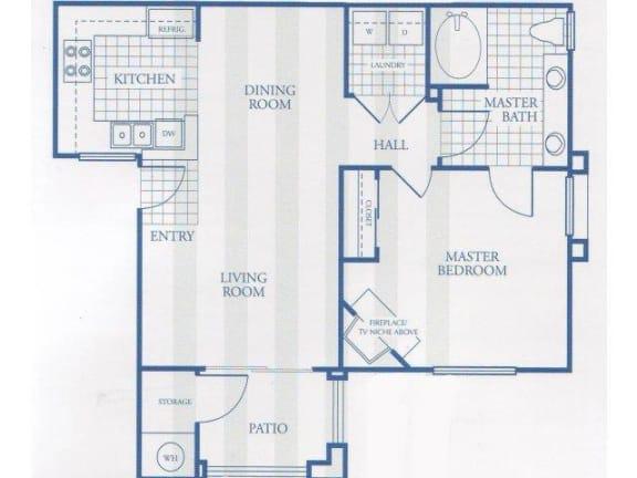 Floor Plan  Floor Plan Clifton at Carlisle at Summerlin, Las Vegas