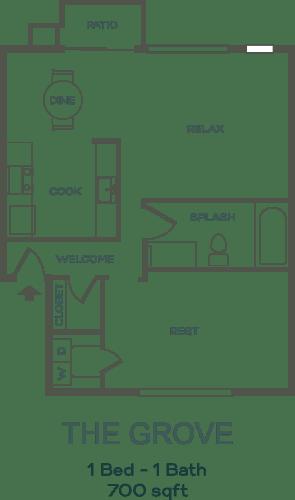 Floor Plan  The Grove Floor Plan