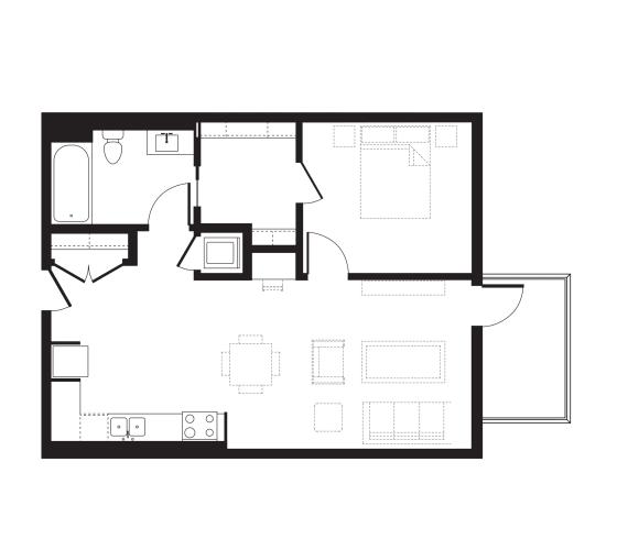 Floor Plan  Unit A