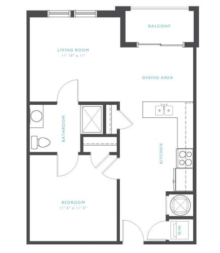 Floor Plan  Cumberland Floor Plan at Residence at Tailrace Marina, Mount Holly, NC, 28120