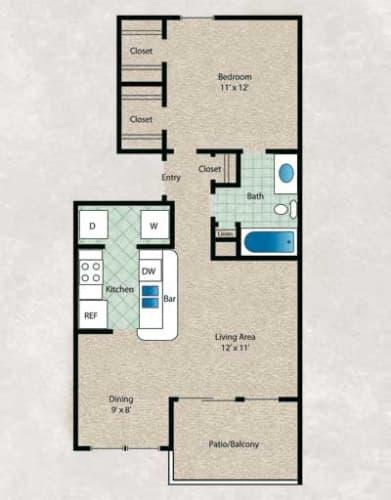Floor Plan  Truffle Oak