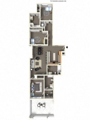 Floor Plan  3x3