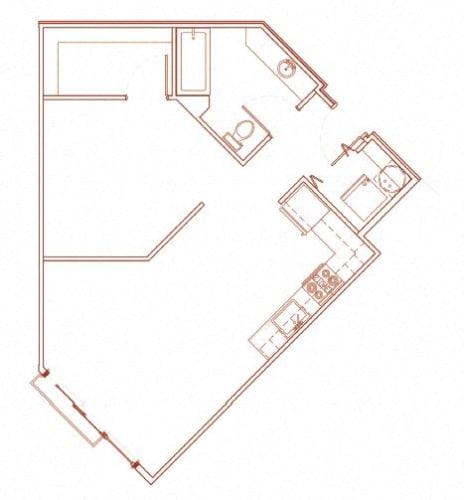 Floor Plan  D Open 1
