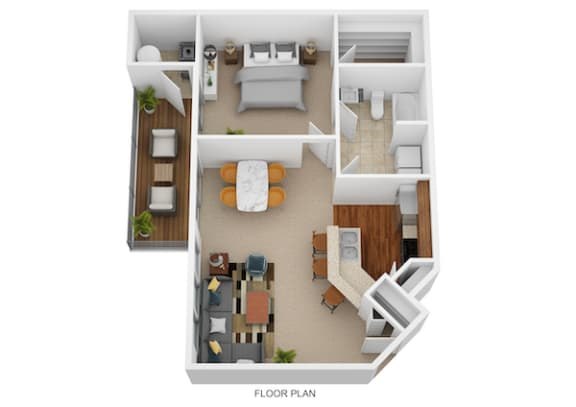 Floor Plan  The Aster I