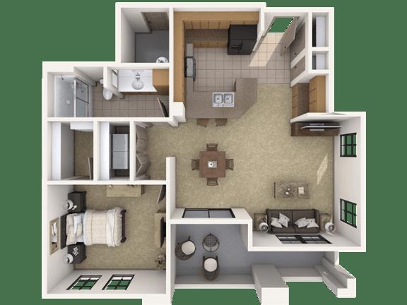 Floor Plan  A1 Premier