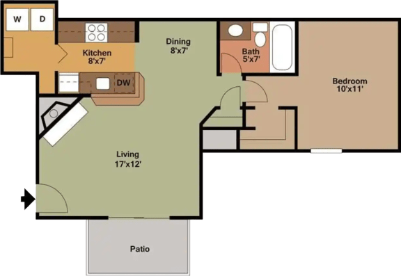 Floor Plan  The Dogwood