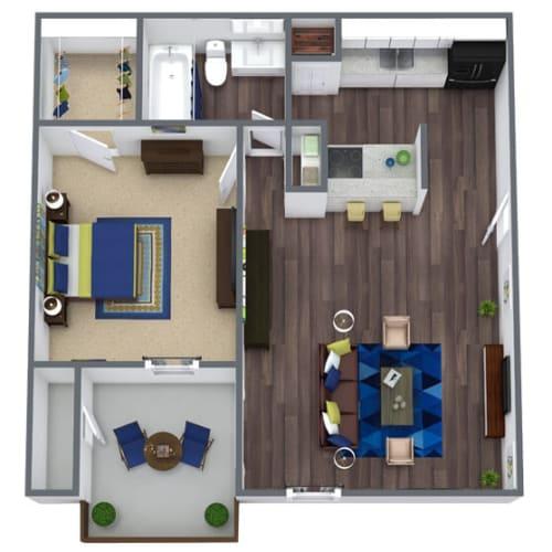 Floor Plan  Garden Ridge Floor Plan 1x1