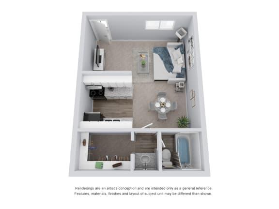 Floor Plan  Studio 3D Floor Plan