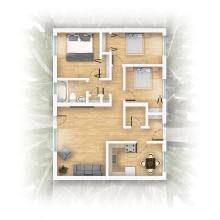 Floor Plan  Apartment 3 Bedroom