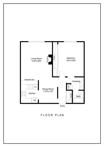 Floor Plan  Ocean Palms and Palisades The Montana Floor Plan Image