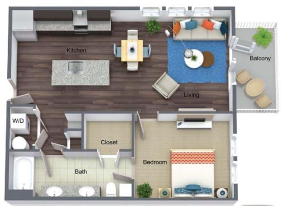 Floor Plan  A1- Elmwood