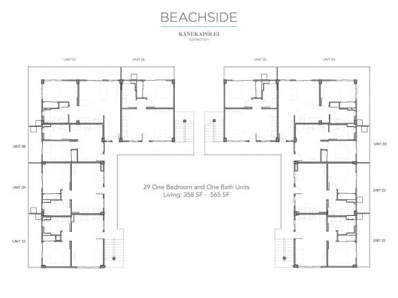 Floor Plan  Kanekapolei Collection Beachside Floor plans