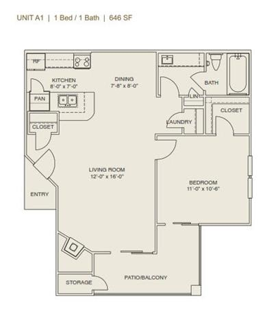 Floor Plan  Laguna - Phase I