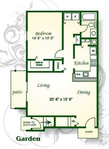 Floor Plan  The Frisco Garden
