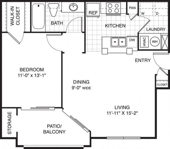 Floor Plan  Ovaltine Court Loft Apartments Near Chicago for Rent