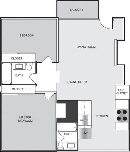 Floor Plan  102 Floor Plan