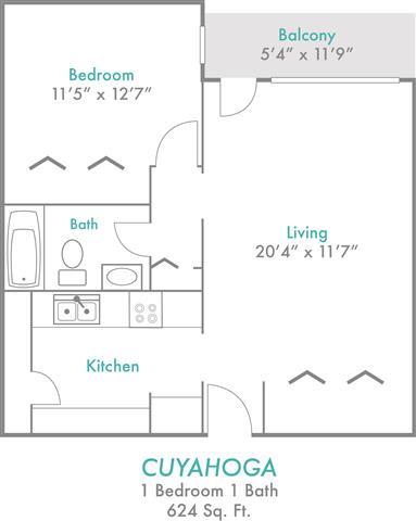 Floor Plan  Cuyahoga