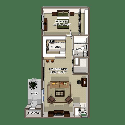 Floor Plan  The Sands Floor Plan at Lakecrest, Greenville, SC