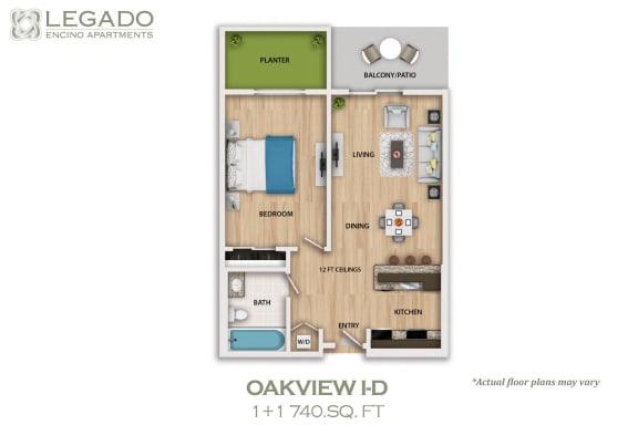 Floor Plan  Oakview I-D