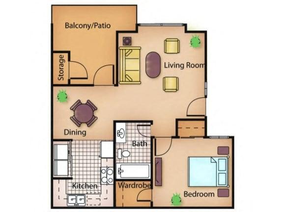 Floor Plan  The Ash floor plan.