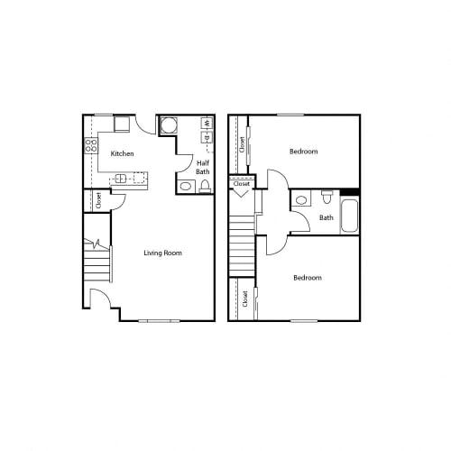 Floor Plan  Jenna Village Apartments Floor Plan