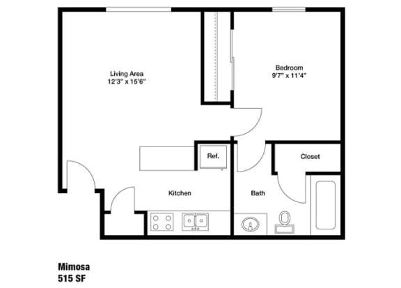 Floor Plan  Mimosa