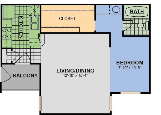 Floor Plan  Eff