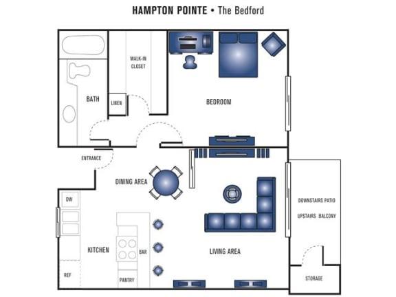 Floor Plan  Bedford