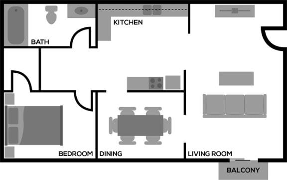Floor Plan  The Chester