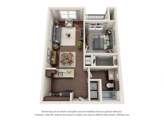Floor Plan  Auberge