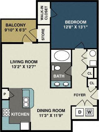 Floor Plan  Amelia-Station-1Bd-floor-plan