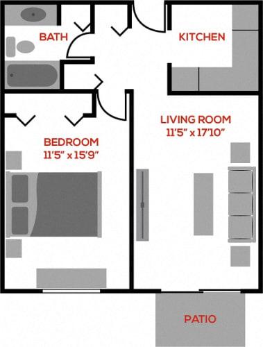 Floor Plan  The Beech
