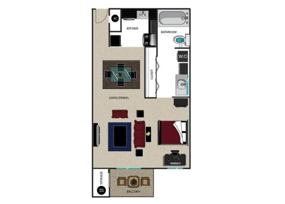 Floor Plan  DORY STUDIO