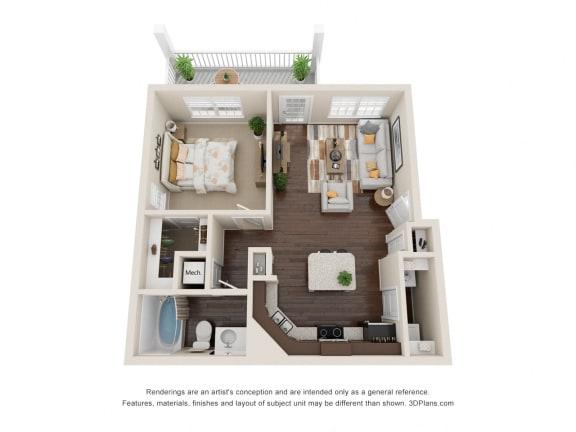 Floor Plan  Luxury Apartments in Franklin TN