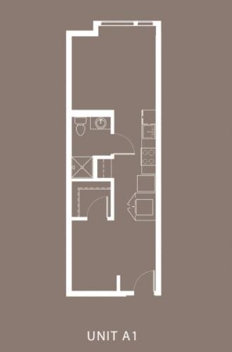 Floor Plan  The Century Floor Plan Unit A1