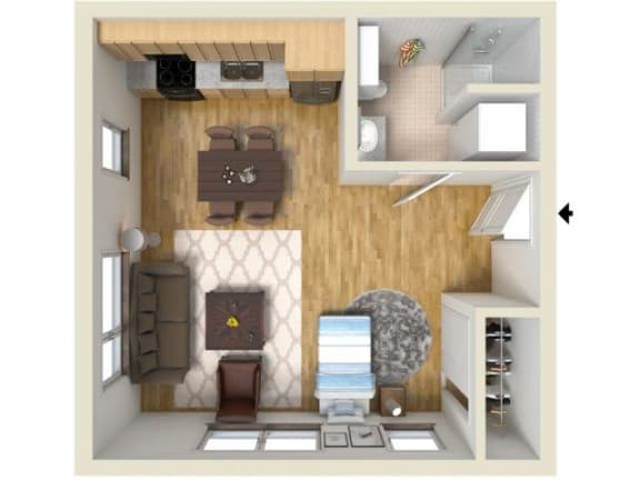 Floor Plan  BROOKLYN