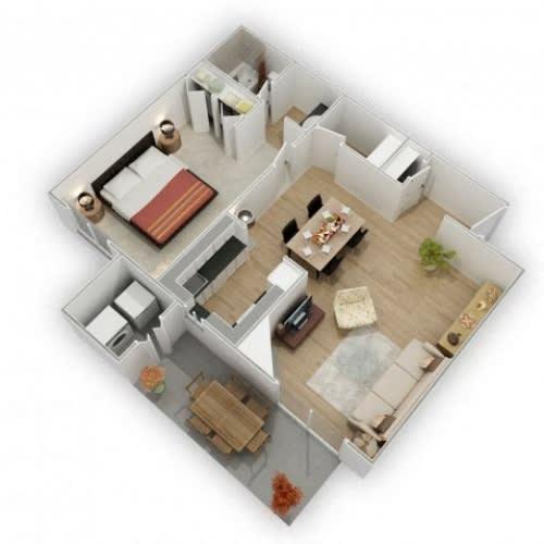 Floor Plan  Country Lake Tahoe Floor Plan 1x1