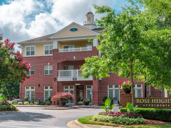 Exquisite Exterior Designs at Rose Heights Apartments, Raleigh, NC, 27613