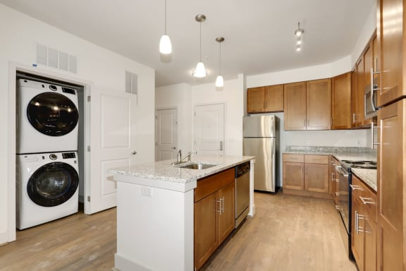 A2A Laundry and Kitchen area at Avenue Grand, Maryland, 21236