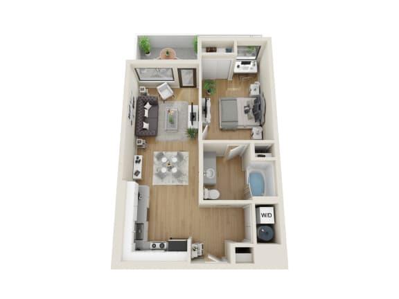 Floor Plan  Nimbus Floor Plan at Sora, Inglewood, 90302