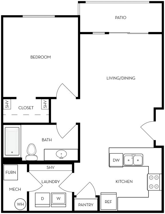 Floor Plan  a10a Floor Plan at Altair at Riverwalk, West Haven, 84401