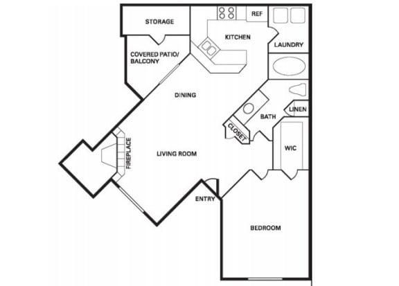 Floor Plan  Santa Clara (A-1) floor plan.