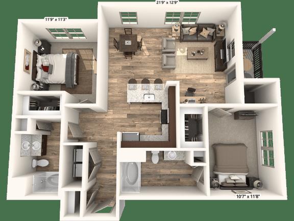 Floor Plan  Woodview Legacy Farms New B1 Floorplan