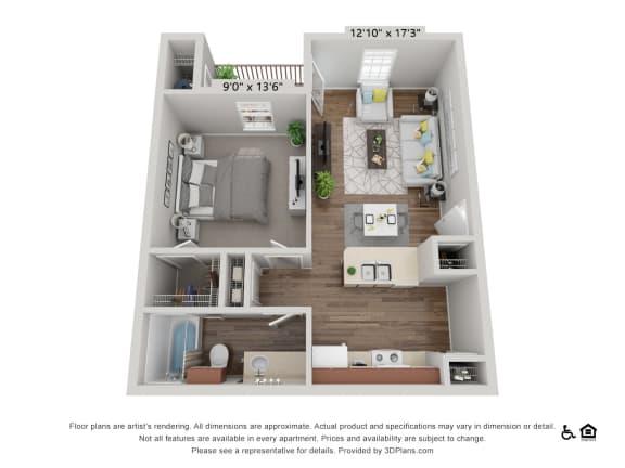 Floor Plan  A1 Cedar