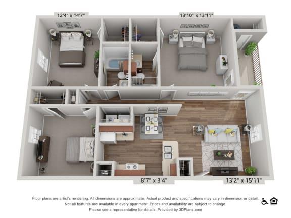 Floor Plan  C1 Maple