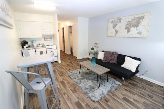 Living Room at Rising Phoenix, New Mexico, 87108