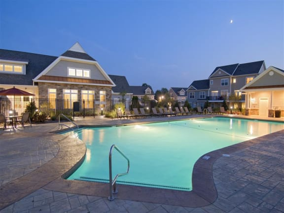 Swimming Pool With Clubhouse at The Preserve at Cohasset, Cohasset, MA